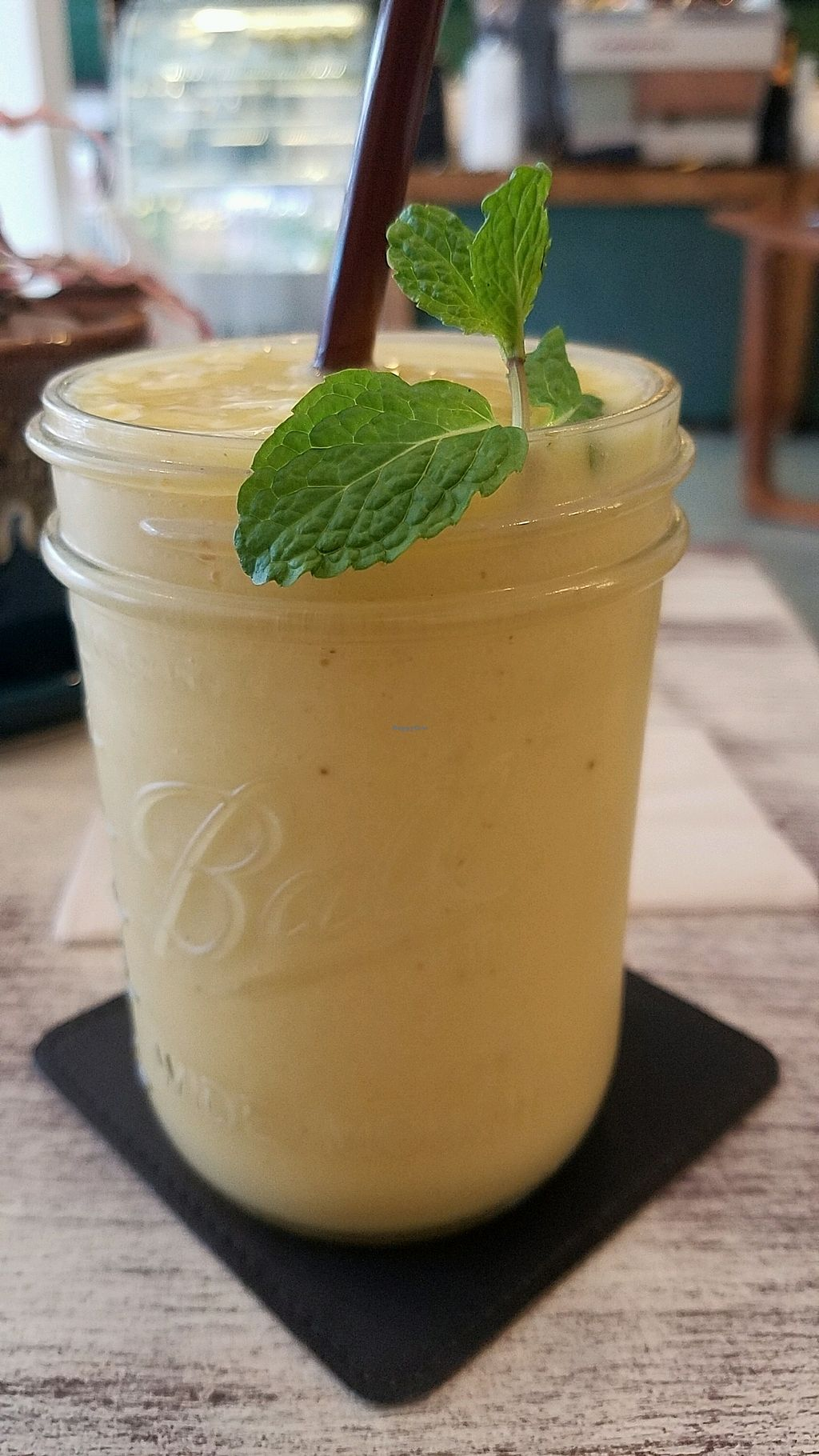 """Photo of Dots Coffee  by <a href=""""/members/profile/eric"""">eric</a> <br/>mango smoothie <br/> January 11, 2018  - <a href='/contact/abuse/image/100052/345250'>Report</a>"""