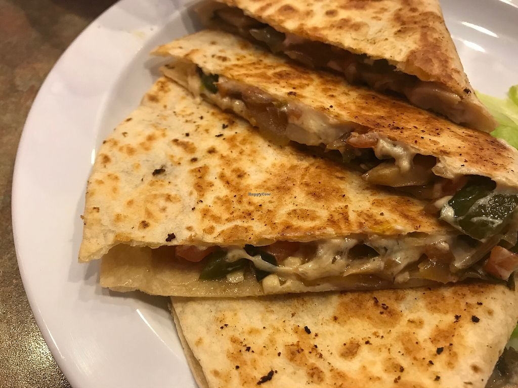 "Photo of Towne Grill & Pub  by <a href=""/members/profile/imli"">imli</a> <br/>Grilled Veggie Quesadilla  <br/> October 7, 2017  - <a href='/contact/abuse/image/100066/312890'>Report</a>"