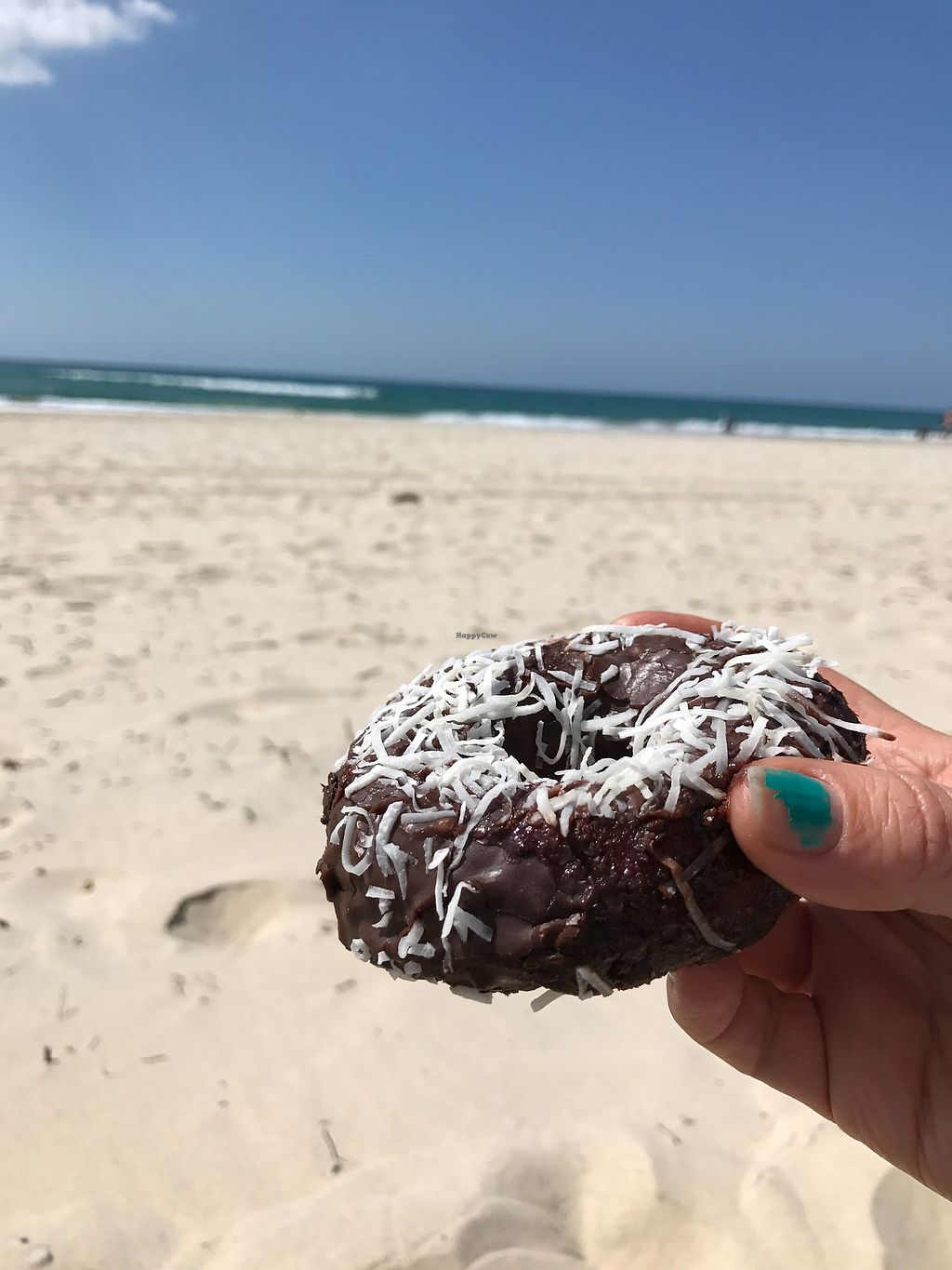 """Photo of Cakegirl Donuts  by <a href=""""/members/profile/AmandaAttard"""">AmandaAttard</a> <br/>Lamington donut from CakeGirl Donuts <br/> September 10, 2017  - <a href='/contact/abuse/image/100112/303092'>Report</a>"""