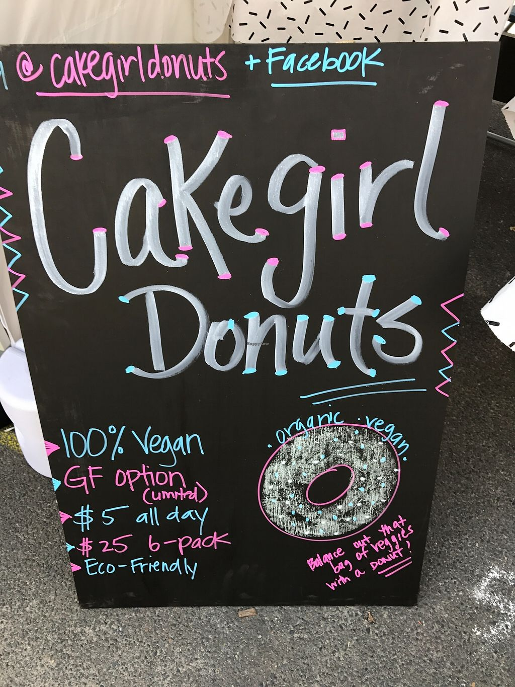 """Photo of Cakegirl Donuts  by <a href=""""/members/profile/AmandaAttard"""">AmandaAttard</a> <br/>CakeGirl Donuts at the markets <br/> September 10, 2017  - <a href='/contact/abuse/image/100112/303094'>Report</a>"""