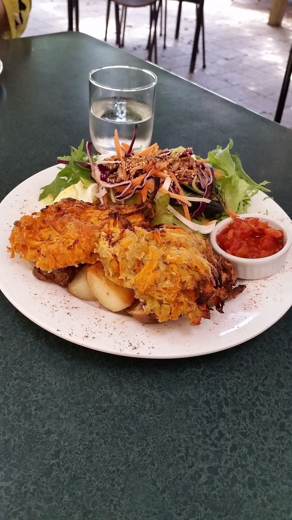 """Photo of The Winemakers Daughter  by <a href=""""/members/profile/AndyTheVWDude"""">AndyTheVWDude</a> <br/>Pumpkin & Kumera fritters - Tasty! <br/> October 28, 2017  - <a href='/contact/abuse/image/100115/319653'>Report</a>"""