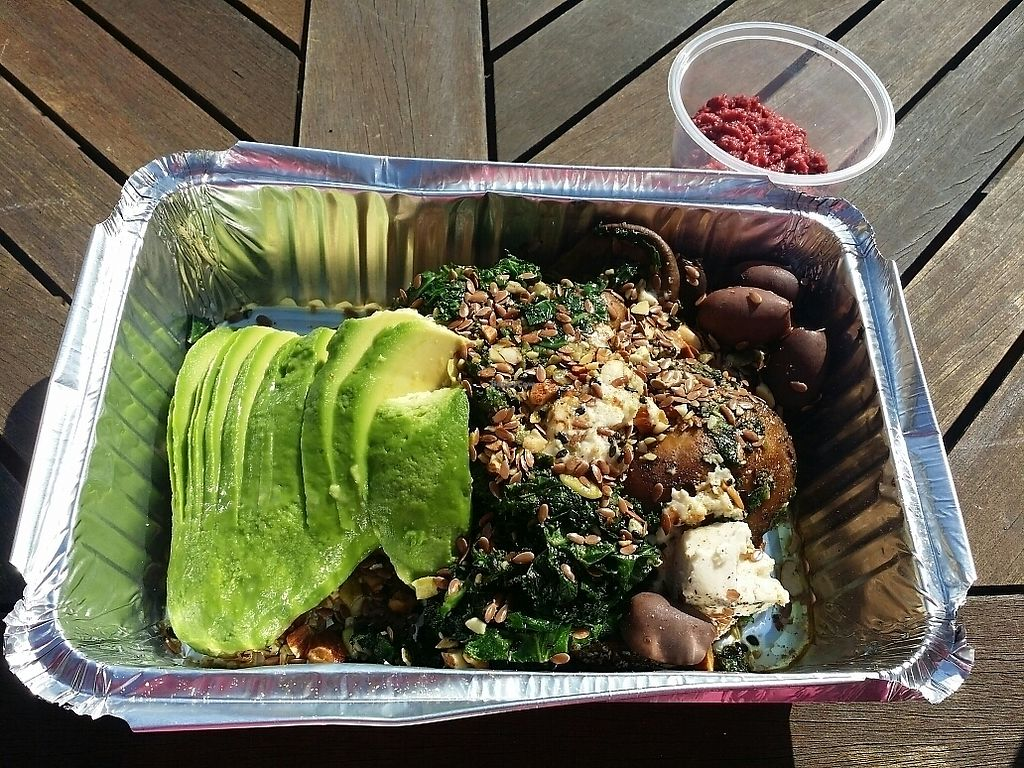 "Photo of Platform 1 Cafe  by <a href=""/members/profile/ericacrombie"">ericacrombie</a> <br/>Wonder Vegan - Uber Eats delivery <br/> September 23, 2017  - <a href='/contact/abuse/image/100119/307295'>Report</a>"
