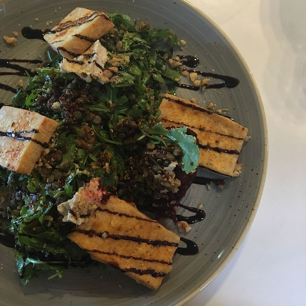 "Photo of Platform 1 Cafe  by <a href=""/members/profile/MadeleineSc"">MadeleineSc</a> <br/>Halloumi salad made vegan with tofu <br/> March 13, 2018  - <a href='/contact/abuse/image/100119/370005'>Report</a>"