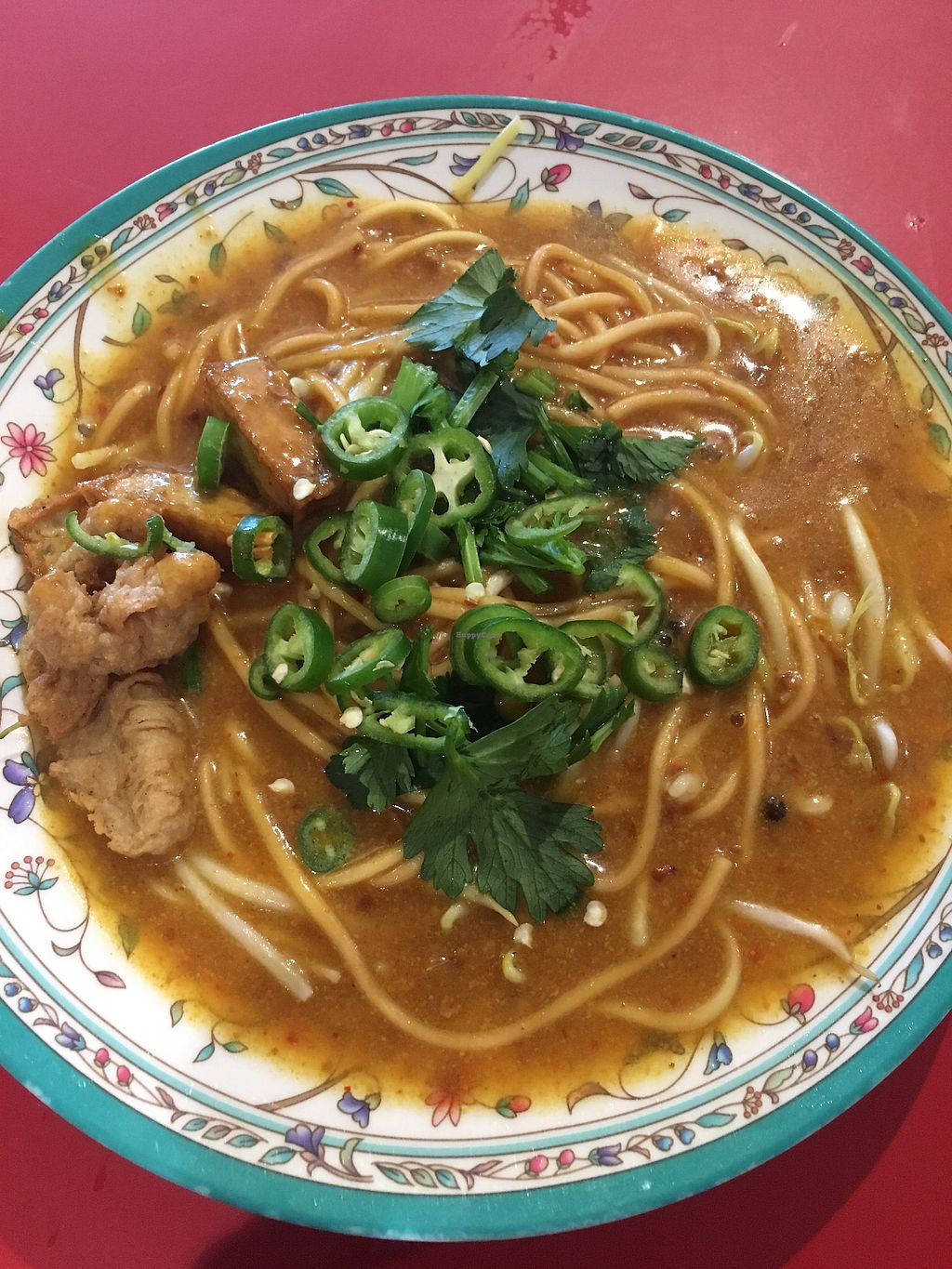 "Photo of Fu Yuan Vegetarian Stall - ABC Brickworks Market  by <a href=""/members/profile/xiaomei"">xiaomei</a> <br/>Mee Rebus <br/> January 30, 2018  - <a href='/contact/abuse/image/100137/352738'>Report</a>"