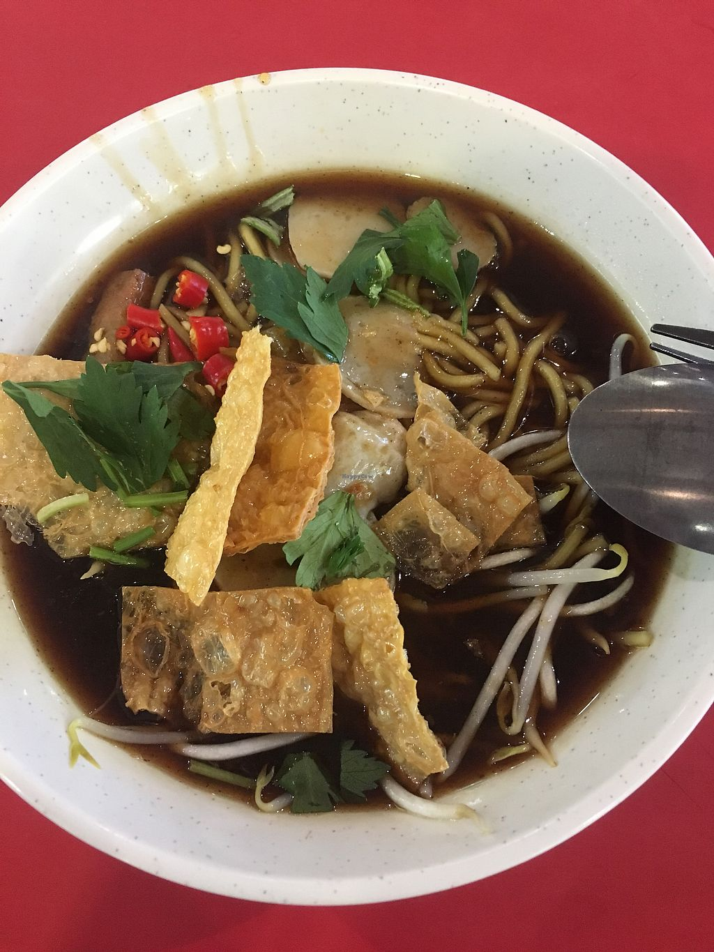 "Photo of Fu Yuan Vegetarian Stall - ABC Brickworks Market  by <a href=""/members/profile/xiaomei"">xiaomei</a> <br/>Lor Mee <br/> January 30, 2018  - <a href='/contact/abuse/image/100137/352739'>Report</a>"