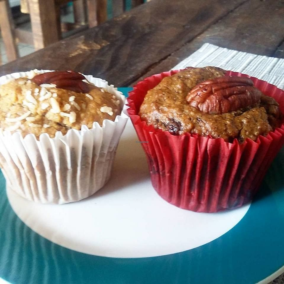 """Photo of Velvet Bakery & Coffee  by <a href=""""/members/profile/YanethGris"""">YanethGris</a> <br/>Vegan muffins <br/> September 2, 2017  - <a href='/contact/abuse/image/100160/300217'>Report</a>"""