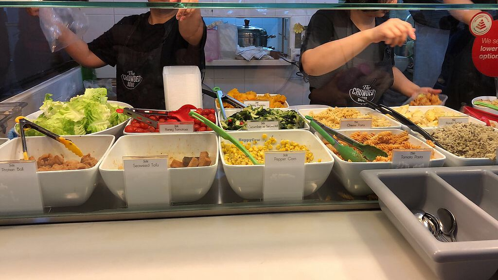 "Photo of The Crowded Bowl - Republic Polytechnic  by <a href=""/members/profile/CherylQuincy"">CherylQuincy</a> <br/>Veggie selection (photo by Adeline, Ming Min) <br/> April 17, 2018  - <a href='/contact/abuse/image/100192/387091'>Report</a>"
