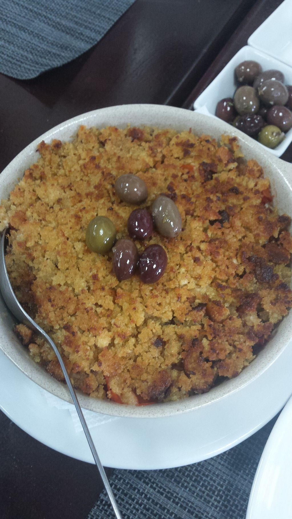 """Photo of Qualquer Hora  by <a href=""""/members/profile/inesvd"""">inesvd</a> <br/>Vegan crumble.  <br/> September 4, 2017  - <a href='/contact/abuse/image/100214/300812'>Report</a>"""
