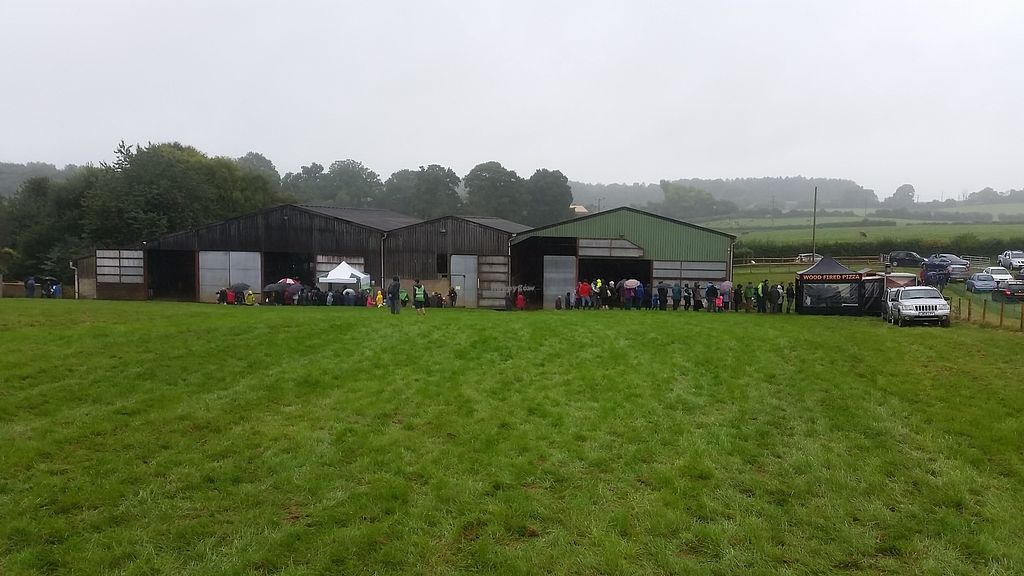 "Photo of Dean Farm Trust  by <a href=""/members/profile/konlish"">konlish</a> <br/>Long queue for pizza <br/> September 3, 2017  - <a href='/contact/abuse/image/100219/300483'>Report</a>"