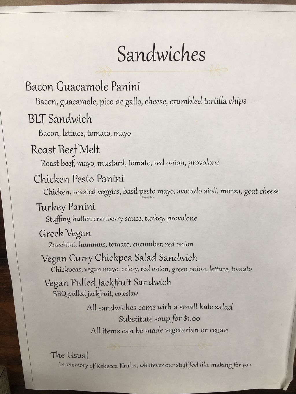 "Photo of SaraBella's Gluten Free Cafe  by <a href=""/members/profile/KellyStCoeur"">KellyStCoeur</a> <br/>Menu 1 <br/> March 7, 2018  - <a href='/contact/abuse/image/100240/367608'>Report</a>"
