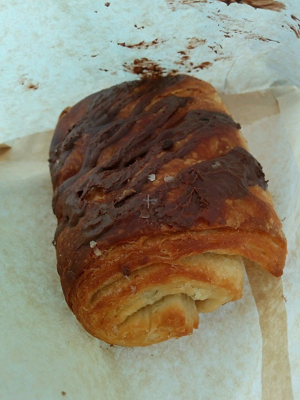 "Photo of Nick's Kitchen  by <a href=""/members/profile/alexandra_vegan"">alexandra_vegan</a> <br/>Chocolate Croissant <br/> September 4, 2017  - <a href='/contact/abuse/image/100241/300774'>Report</a>"