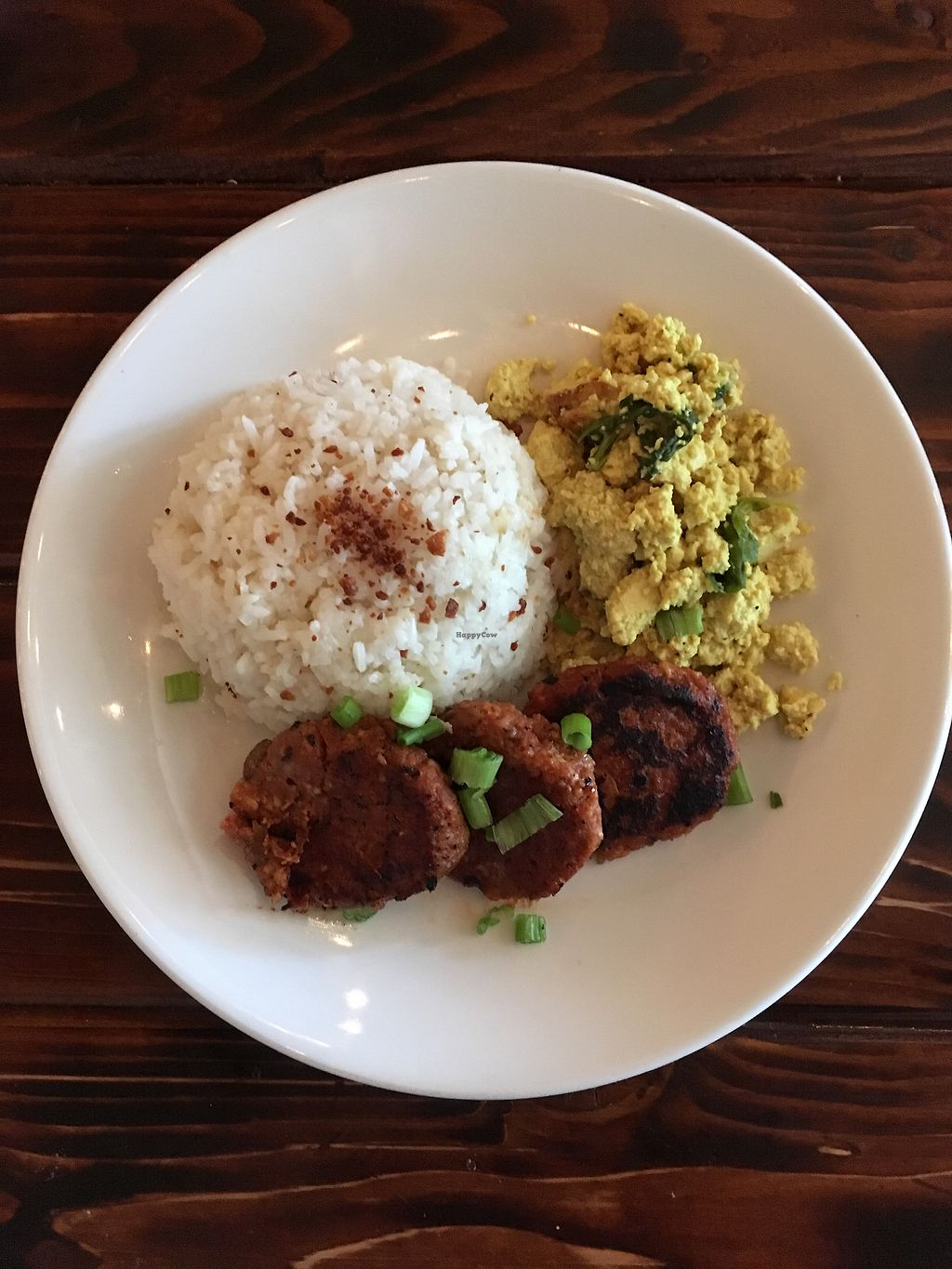 "Photo of Nick's Kitchen  by <a href=""/members/profile/Maganda"">Maganda</a> <br/>Longsilog- ""pork sausages with tofu scrambl <br/> September 23, 2017  - <a href='/contact/abuse/image/100241/307499'>Report</a>"