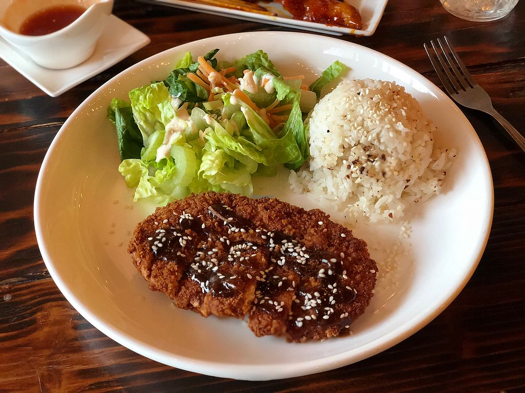 "Photo of Nick's Kitchen  by <a href=""/members/profile/BrittanyHowze"">BrittanyHowze</a> <br/>Katsu ""chicken"" special <br/> March 16, 2018  - <a href='/contact/abuse/image/100241/371153'>Report</a>"