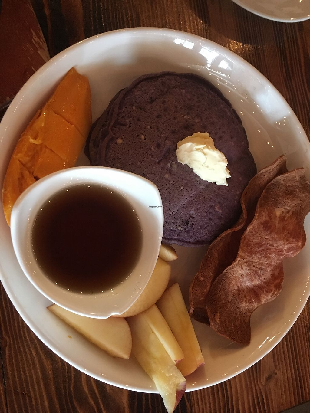 "Photo of Nick's Kitchen  by <a href=""/members/profile/Maganda"">Maganda</a> <br/>Ube Pancake with ""Bacon"" <br/> April 8, 2018  - <a href='/contact/abuse/image/100241/382182'>Report</a>"