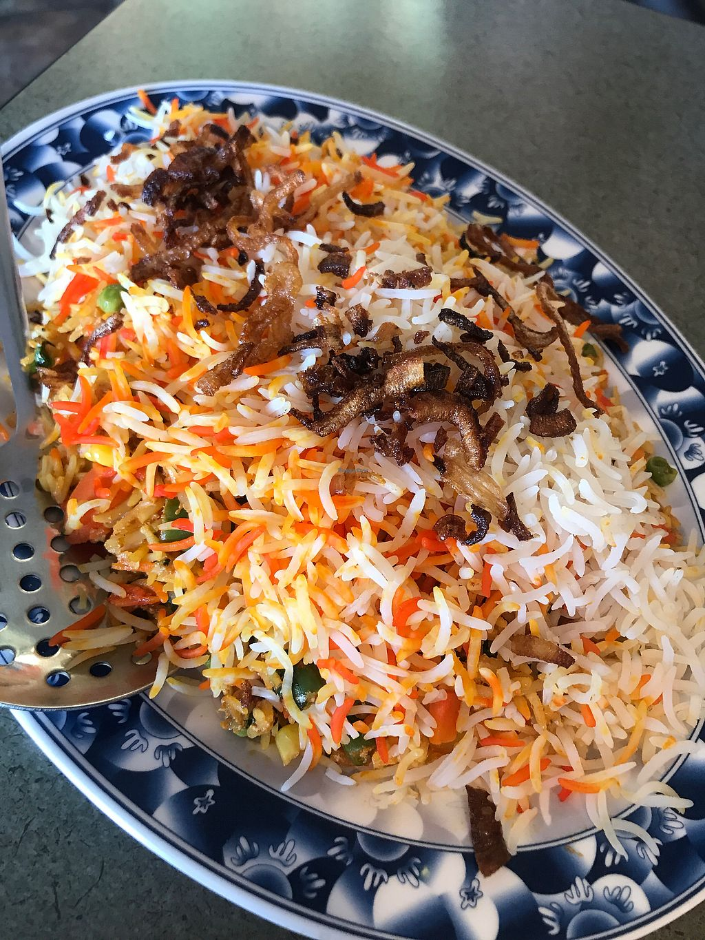 """Photo of Masala Indo-Pak Cuisine  by <a href=""""/members/profile/VickyLee"""">VickyLee</a> <br/>Rice biryani vegetable  <br/> February 11, 2018  - <a href='/contact/abuse/image/100258/357704'>Report</a>"""