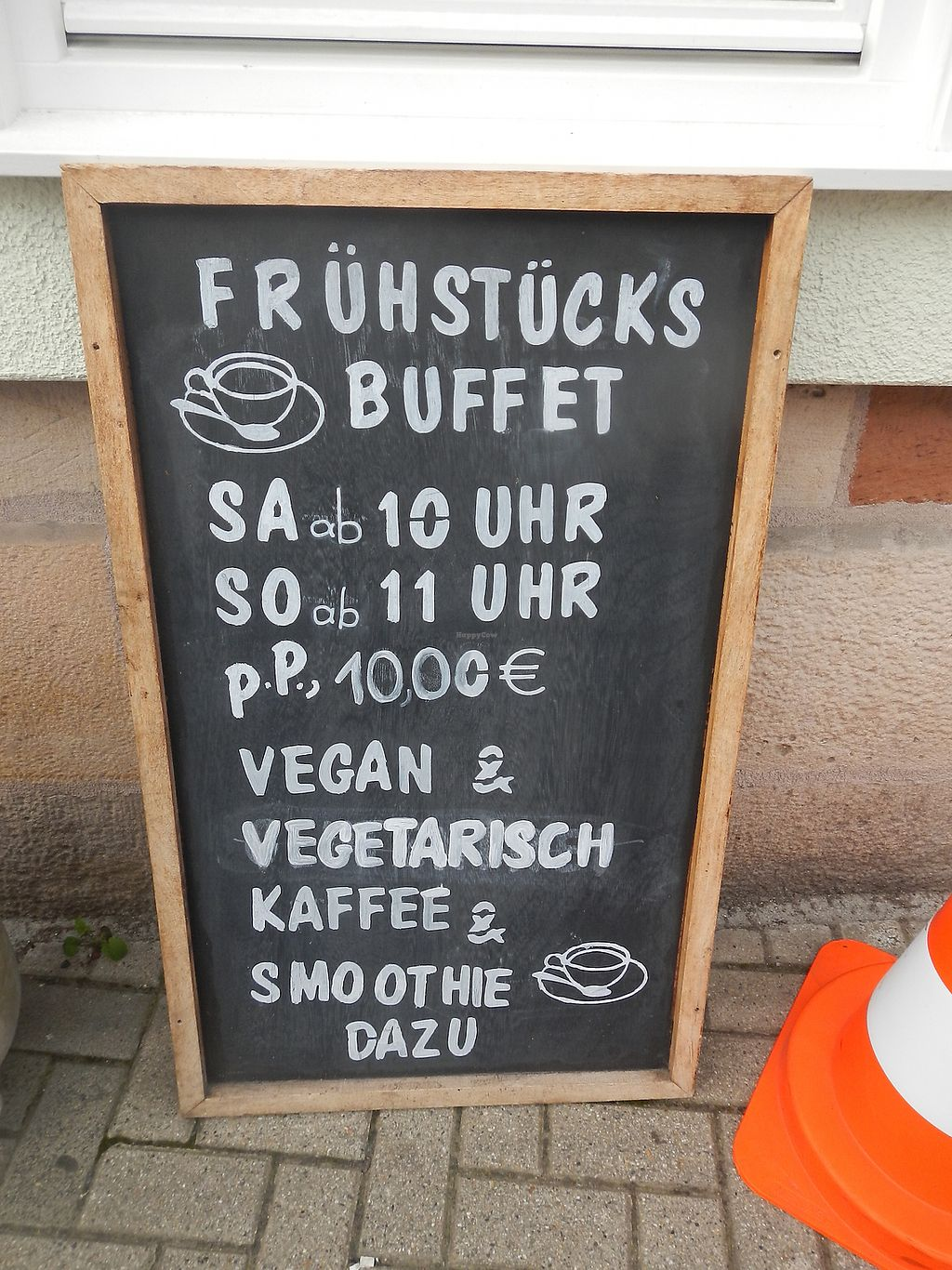 """Photo of  Leni's Cafe Boehnchen  by <a href=""""/members/profile/falafffel"""">falafffel</a> <br/>vegan & vegetarian breakfast buffet <br/> September 6, 2017  - <a href='/contact/abuse/image/100271/301543'>Report</a>"""