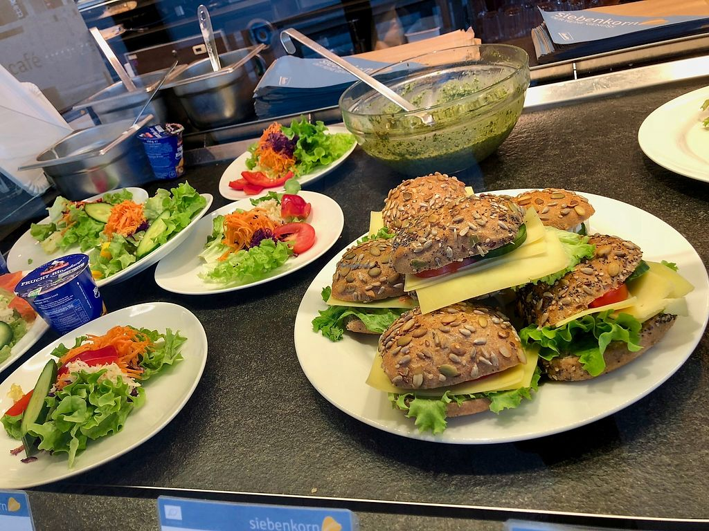 """Photo of Siebenkorn & Cafe Brotzeit  by <a href=""""/members/profile/marky_mark"""">marky_mark</a> <br/>snacks (not vegan) <br/> March 24, 2018  - <a href='/contact/abuse/image/100275/375463'>Report</a>"""