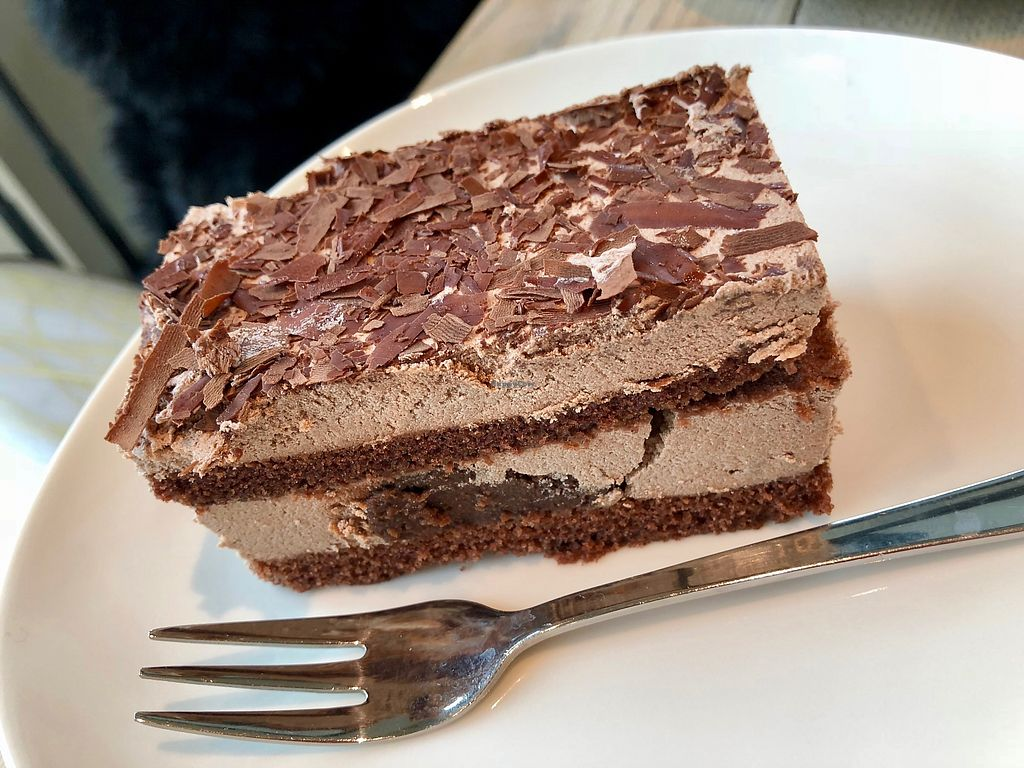 """Photo of Siebenkorn & Cafe Brotzeit  by <a href=""""/members/profile/marky_mark"""">marky_mark</a> <br/>vegan cake <br/> March 24, 2018  - <a href='/contact/abuse/image/100275/375466'>Report</a>"""