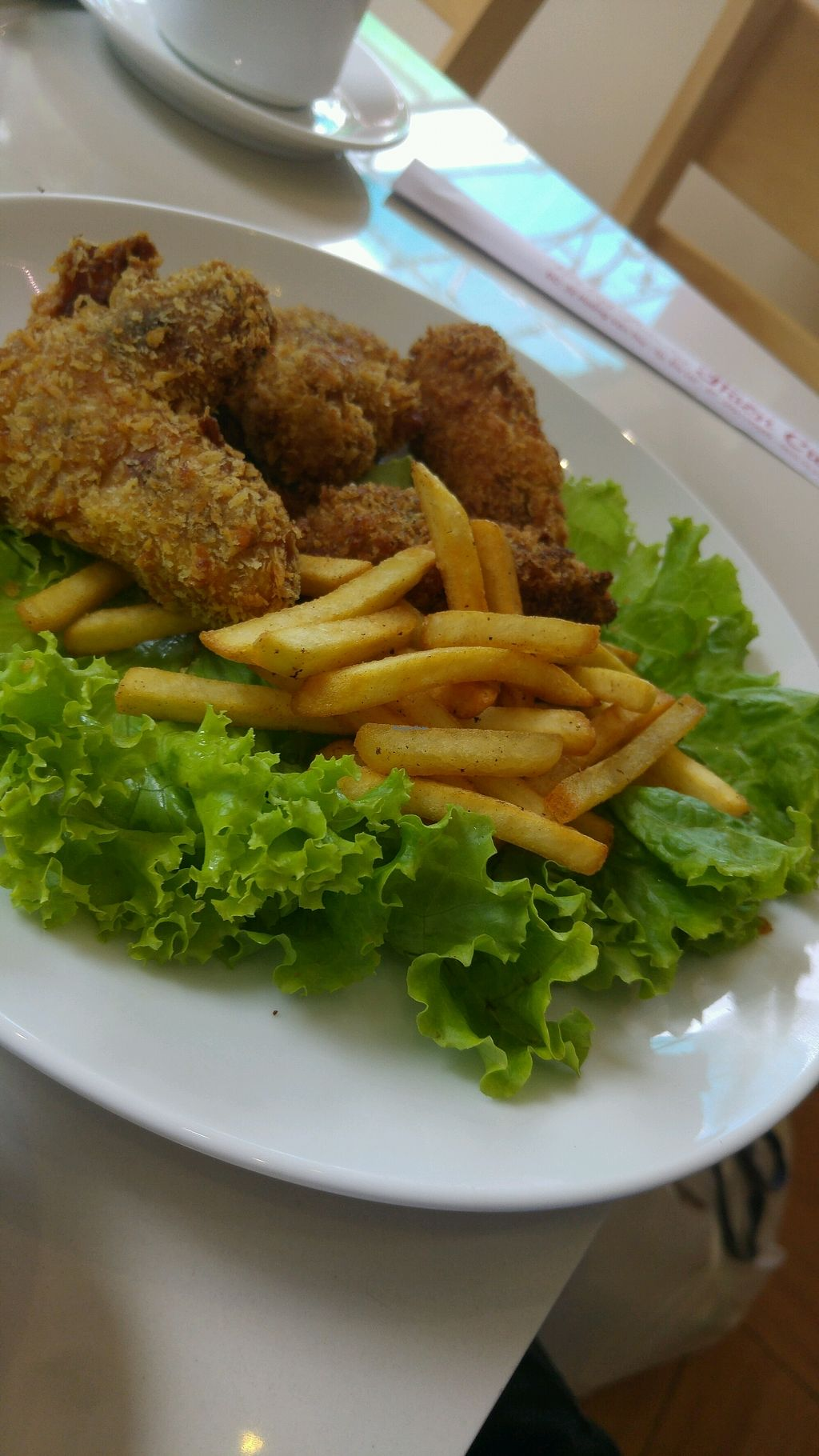 """Photo of Thien Cung - Loving Hut  by <a href=""""/members/profile/daveVN"""">daveVN</a> <br/>appetizer - """"kfc for vegetarians"""" <br/> September 19, 2017  - <a href='/contact/abuse/image/100280/305999'>Report</a>"""