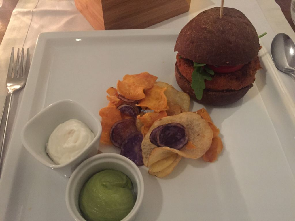 """Photo of Il Margutta Veggy Food and Art  by <a href=""""/members/profile/Mirage"""">Mirage</a> <br/>Burger <br/> August 15, 2016  - <a href='/contact/abuse/image/1002/168987'>Report</a>"""