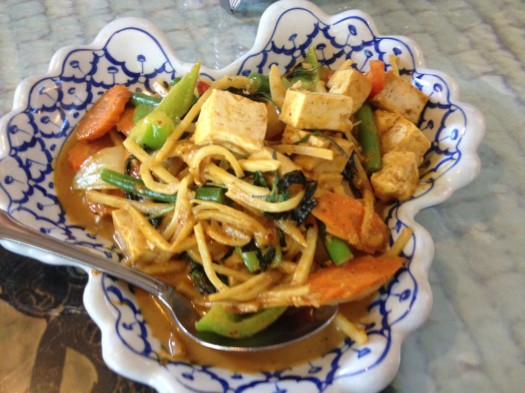 """Photo of Thai Cuisine  by <a href=""""/members/profile/AutumnTierra"""">AutumnTierra</a> <br/>Basil curry with tofu <br/> September 4, 2017  - <a href='/contact/abuse/image/100307/300912'>Report</a>"""