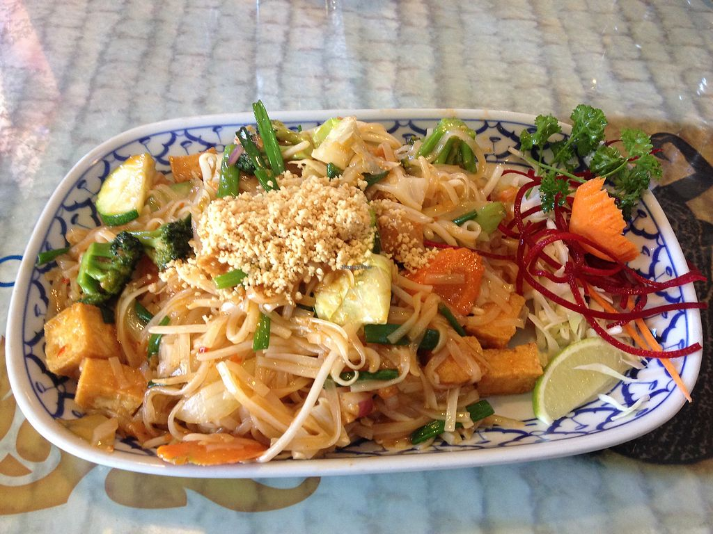 """Photo of Thai Cuisine  by <a href=""""/members/profile/AutumnTierra"""">AutumnTierra</a> <br/>Vegan pad Thai! <br/> October 10, 2017  - <a href='/contact/abuse/image/100307/313799'>Report</a>"""