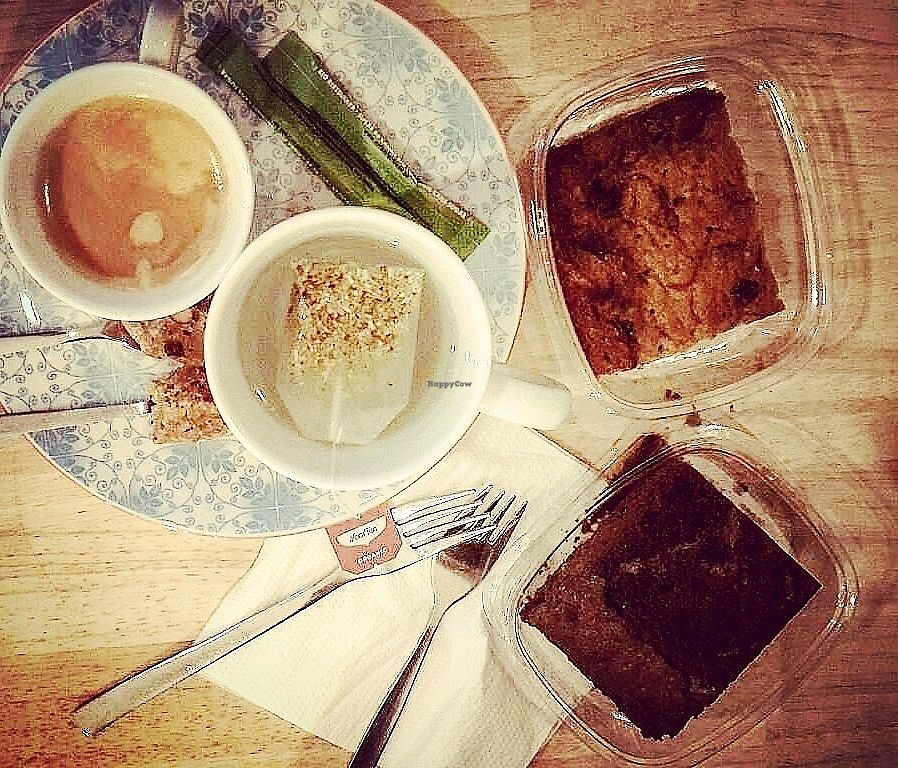 """Photo of Greenway  by <a href=""""/members/profile/TytoAlba"""">TytoAlba</a> <br/>Tea and vegan cakes  <br/> February 14, 2018  - <a href='/contact/abuse/image/10031/359373'>Report</a>"""