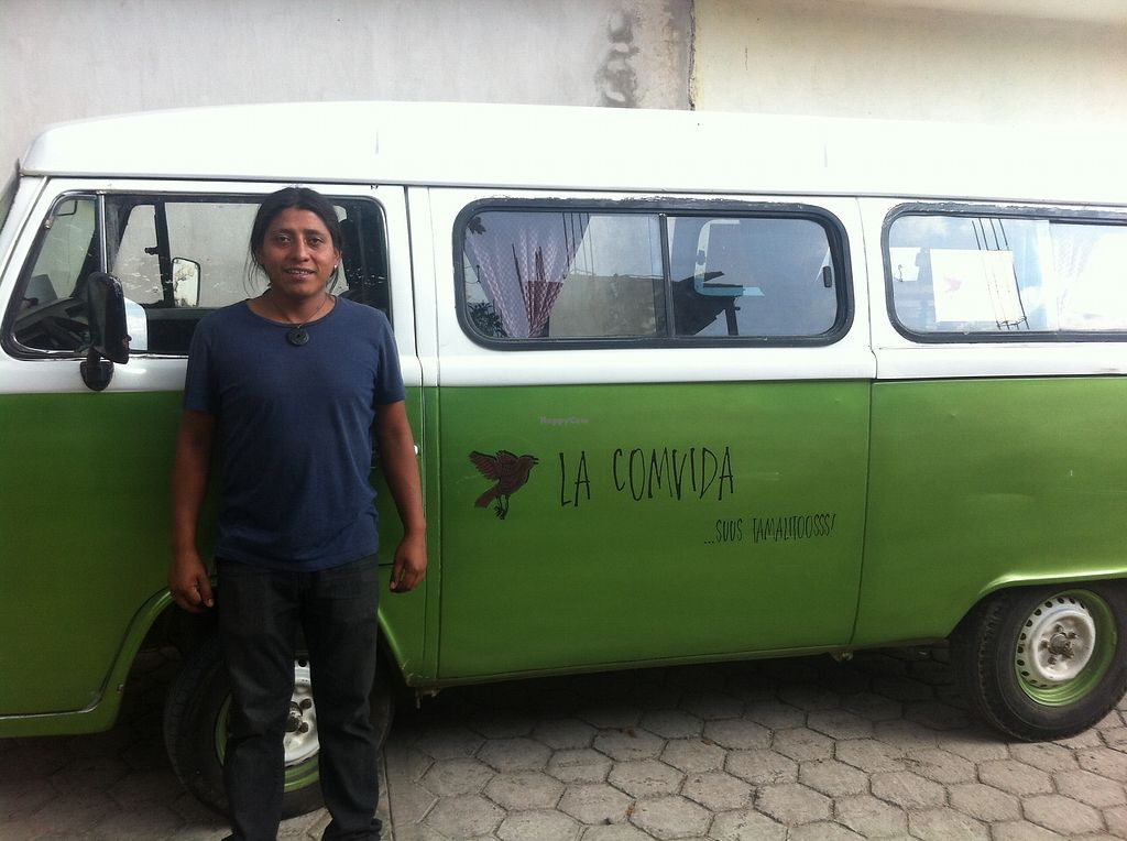 "Photo of La Comvida Food Truck  by <a href=""/members/profile/LaComvida"">LaComvida</a> <br/>Search for the green van in the street of Diego Dugelay or follow the smell of delicious Fresh-made Tamales <br/> September 6, 2017  - <a href='/contact/abuse/image/100354/301440'>Report</a>"
