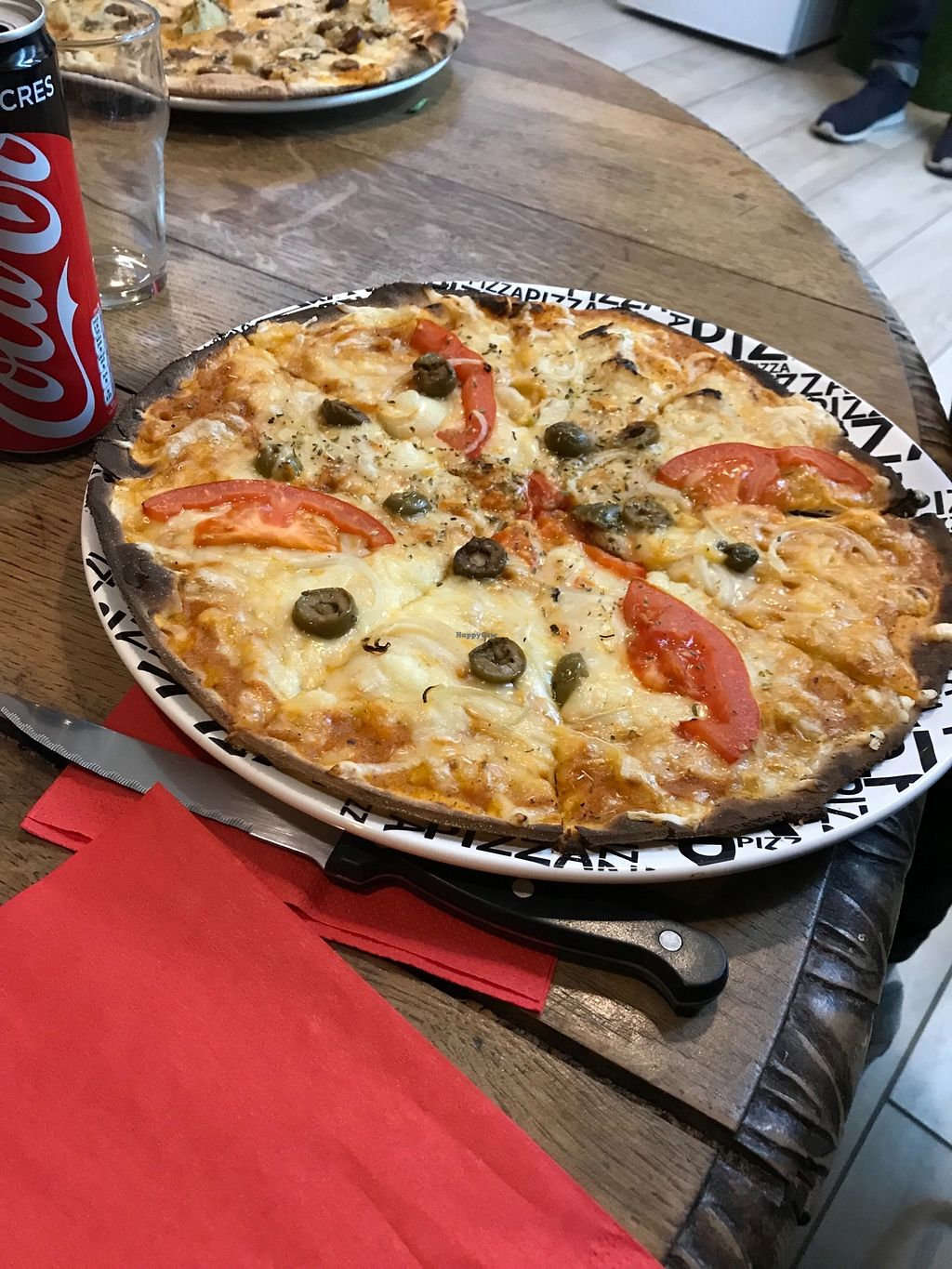 "Photo of Happiz  by <a href=""/members/profile/TARAMCDONALD"">TARAMCDONALD</a> <br/>Perfect vegan pizza <br/> January 3, 2018  - <a href='/contact/abuse/image/100374/342712'>Report</a>"