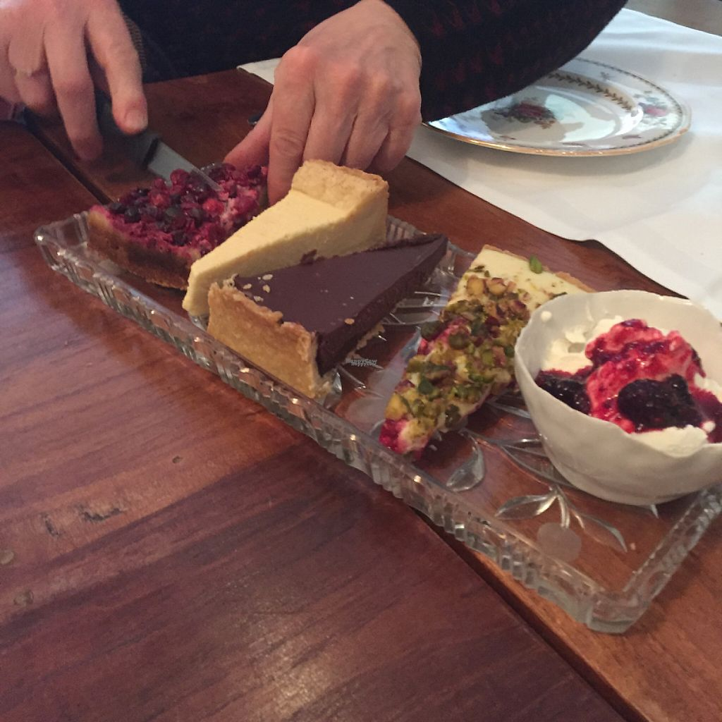 """Photo of Betty's Vegetarian Restaurant  by <a href=""""/members/profile/Sierk"""">Sierk</a> <br/>desserts <br/> April 16, 2017  - <a href='/contact/abuse/image/1003/249077'>Report</a>"""