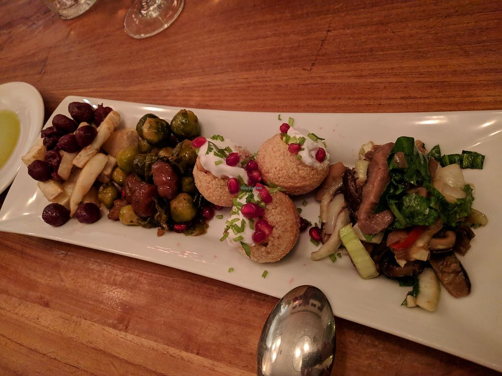 """Photo of Betty's Vegetarian Restaurant  by <a href=""""/members/profile/steveveg"""">steveveg</a> <br/>Appetizer <br/> February 2, 2018  - <a href='/contact/abuse/image/1003/353961'>Report</a>"""