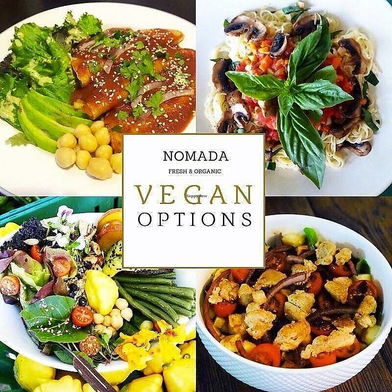 """Photo of Nomada Organics & Gourmet  by <a href=""""/members/profile/YanethGris"""">YanethGris</a> <br/>Vegan options <br/> November 1, 2017  - <a href='/contact/abuse/image/100401/320667'>Report</a>"""