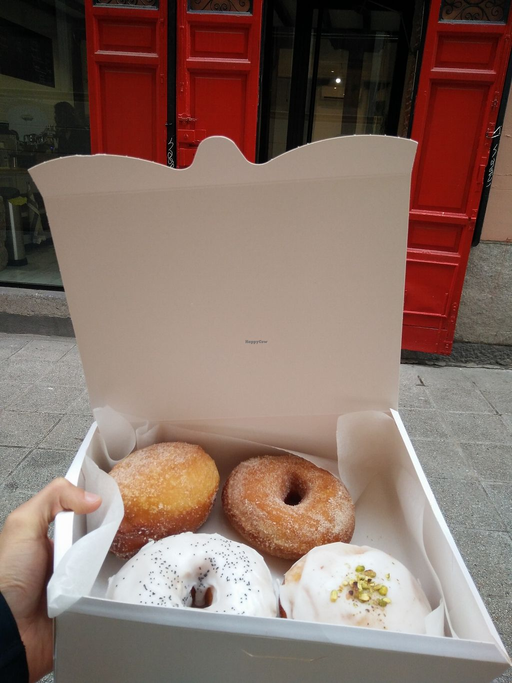 """Photo of Delish Vegan Doughnuts  by <a href=""""/members/profile/martinicontomate"""">martinicontomate</a> <br/>what I got <br/> March 17, 2018  - <a href='/contact/abuse/image/100403/372138'>Report</a>"""