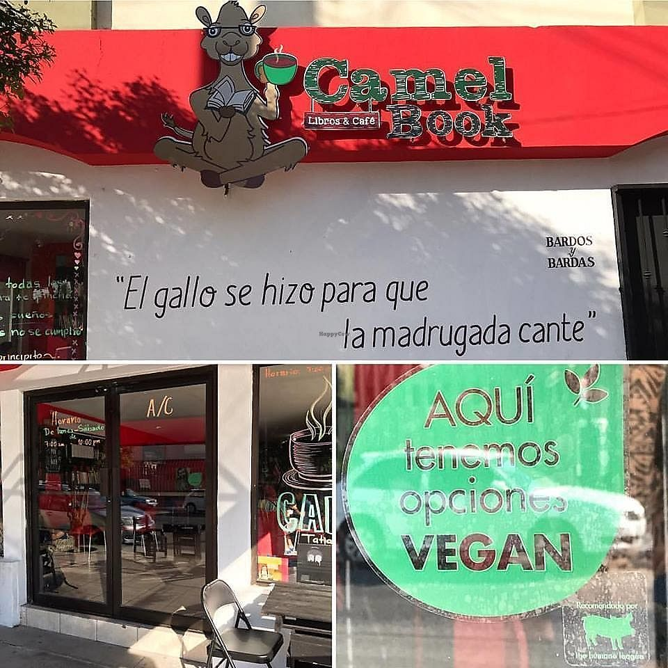 "Photo of Cafebreria CamelBook  by <a href=""/members/profile/YanethGris"">YanethGris</a> <br/>Cafebreria Camelbook is a Vegan Friendly place recommended by The Humane League.  <br/> September 7, 2017  - <a href='/contact/abuse/image/100404/301669'>Report</a>"