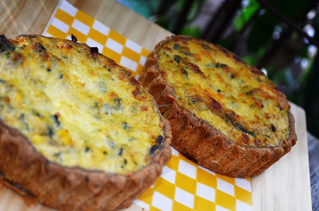 """Photo of Naturalia Cafe  by <a href=""""/members/profile/naturalistas"""">naturalistas</a> <br/>Vegetable Quiche <br/> September 8, 2017  - <a href='/contact/abuse/image/100432/302219'>Report</a>"""