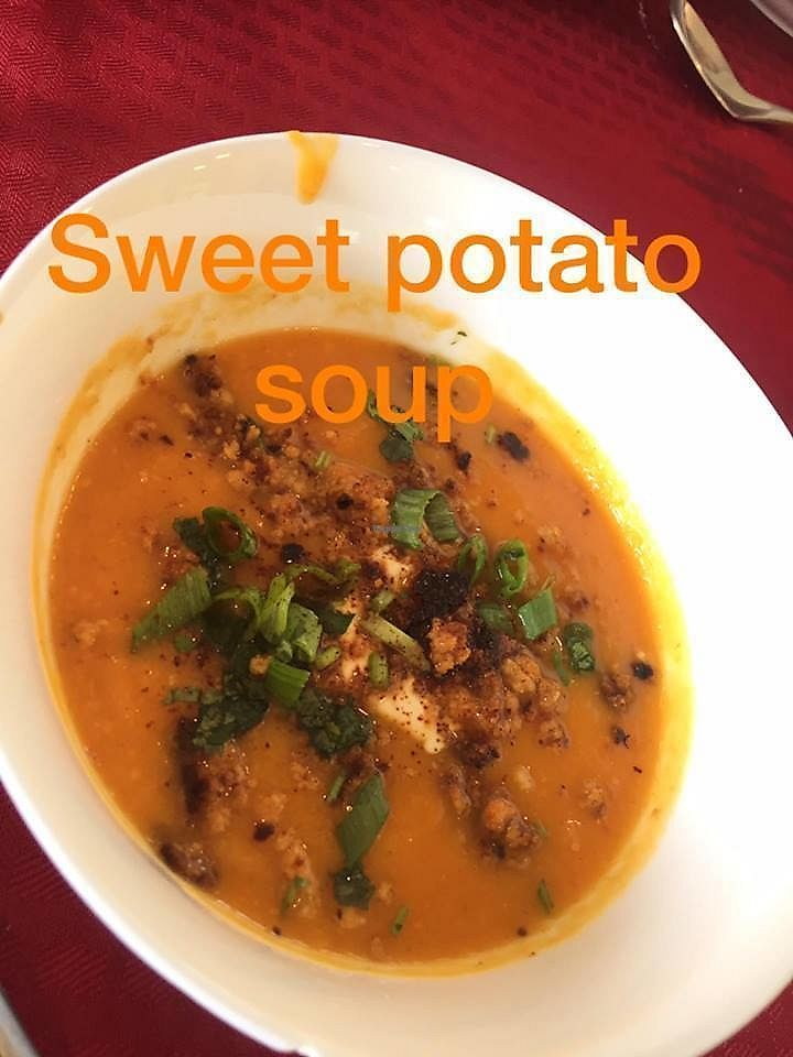 """Photo of Living Desert Ranch  by <a href=""""/members/profile/curlsz"""">curlsz</a> <br/>Sweet potato soup <br/> September 9, 2017  - <a href='/contact/abuse/image/100444/302695'>Report</a>"""