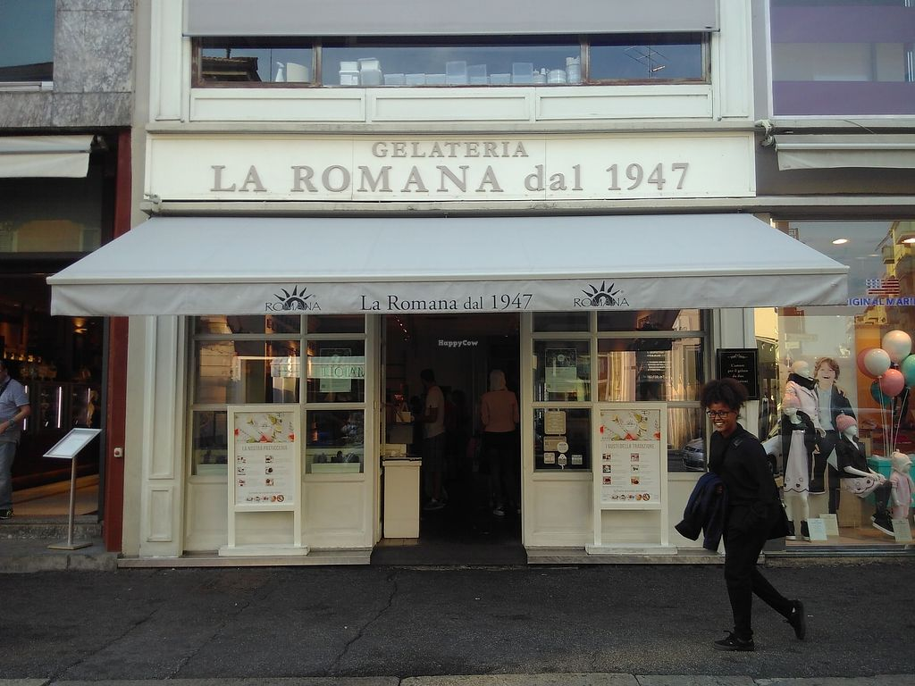 "Photo of Gelateria La Romana  by <a href=""/members/profile/mariona.pages"">mariona.pages</a> <br/>The outside building <br/> September 8, 2017  - <a href='/contact/abuse/image/100470/301979'>Report</a>"
