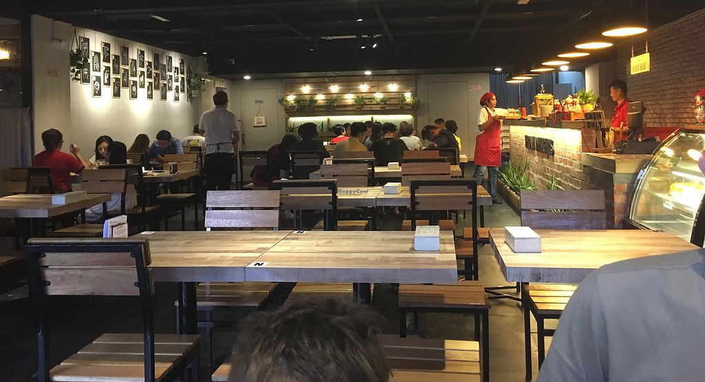 """Photo of Vegan Delights Cafe  by <a href=""""/members/profile/Chooky"""">Chooky</a> <br/>The interior of the cafe <br/> September 9, 2017  - <a href='/contact/abuse/image/100479/302416'>Report</a>"""