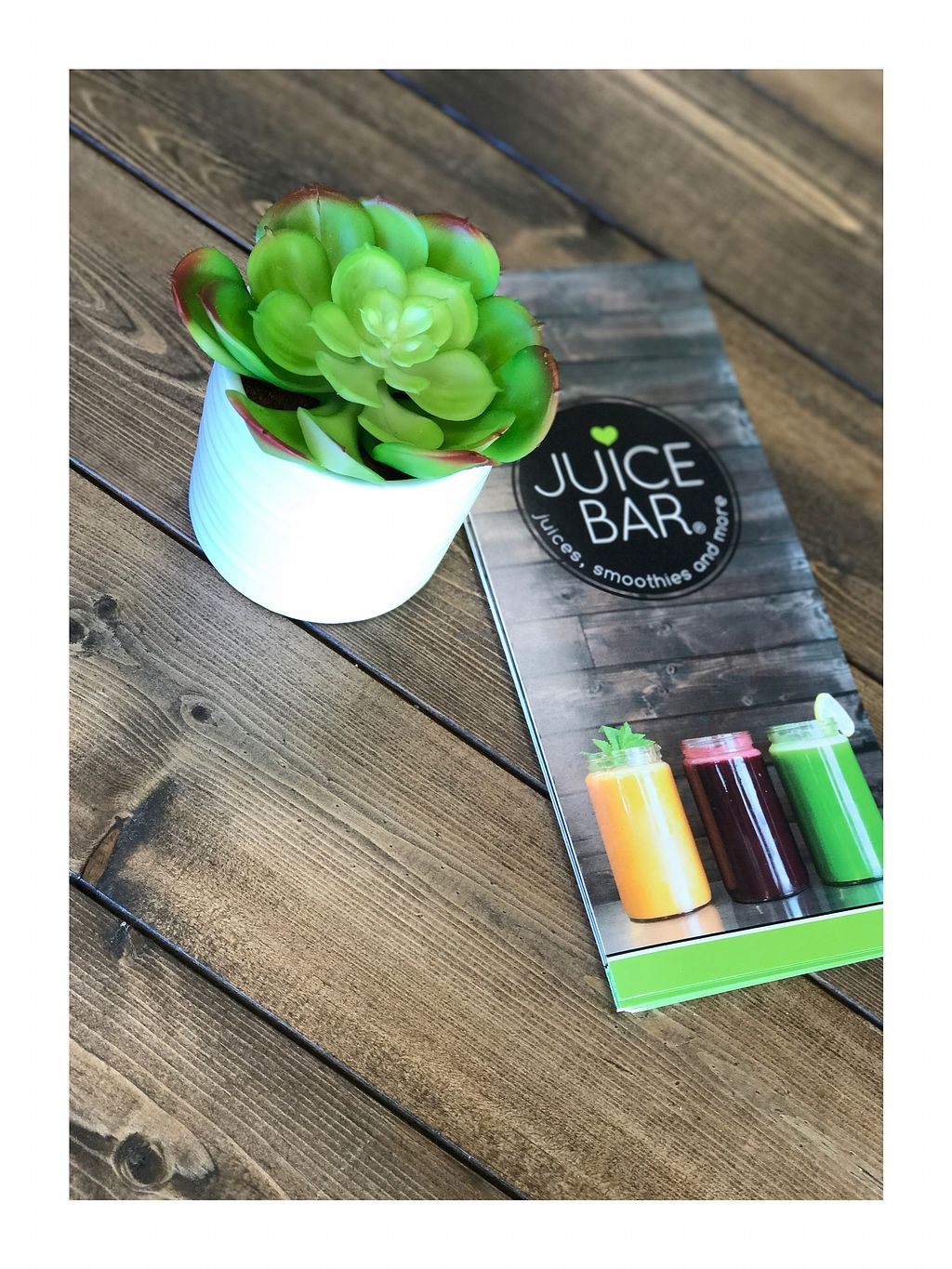 """Photo of I Love Juice Bar  by <a href=""""/members/profile/sobasirat"""">sobasirat</a> <br/>Greens & menu <br/> September 7, 2017  - <a href='/contact/abuse/image/100483/301801'>Report</a>"""