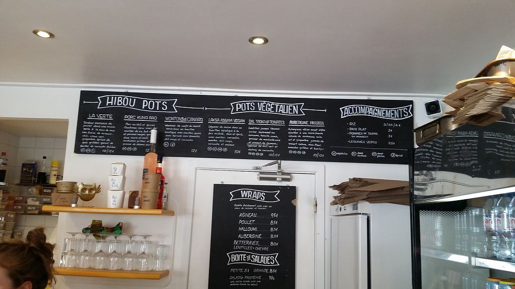 "Photo of Hibou Deli  by <a href=""/members/profile/MikeErlanson"">MikeErlanson</a> <br/>Their menu of the fixed items on the menu. There is also a separate menu that has dAily / sessional specials <br/> September 8, 2017  - <a href='/contact/abuse/image/100497/302173'>Report</a>"