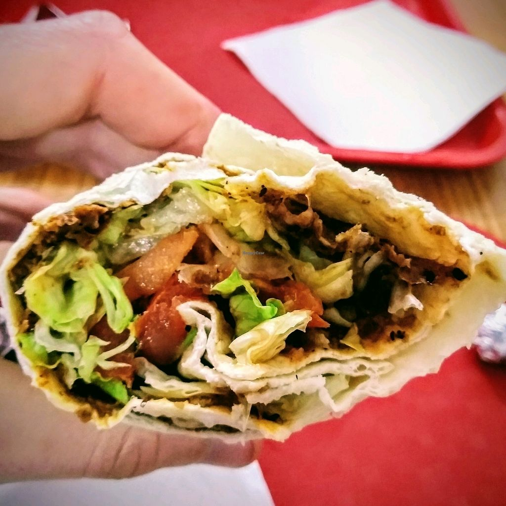 """Photo of Lagash  by <a href=""""/members/profile/Zjef"""">Zjef</a> <br/>cigkofte wrap with fresh vegetables - spicy or extra spicy <br/> February 15, 2018  - <a href='/contact/abuse/image/100531/359736'>Report</a>"""