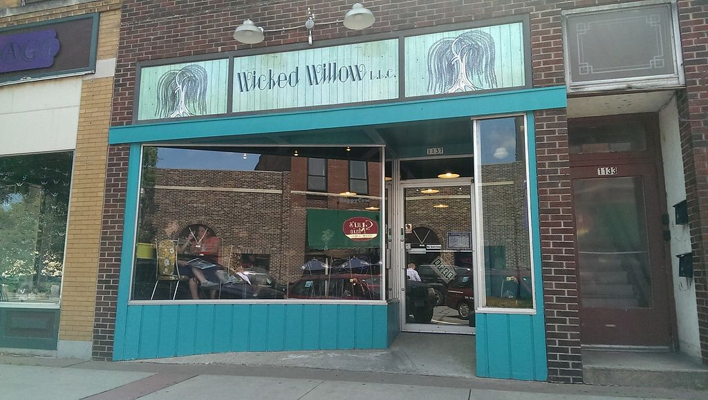 """Photo of Wicked Willow  by <a href=""""/members/profile/WickedWillowLLC"""">WickedWillowLLC</a> <br/>The store front window. Main street Stevens Point, WI.  <br/> November 2, 2017  - <a href='/contact/abuse/image/100541/321262'>Report</a>"""