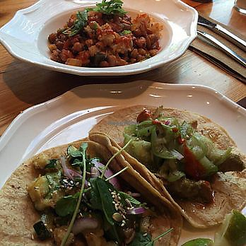 """Photo of Canteen  by <a href=""""/members/profile/TheAllisonBauer"""">TheAllisonBauer</a> <br/>Squash and cauliflower tacos <br/> September 8, 2017  - <a href='/contact/abuse/image/100549/302205'>Report</a>"""