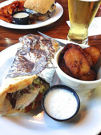 "Photo of Great Dane Pub & Brewing Company  by <a href=""/members/profile/TheAllisonBauer"">TheAllisonBauer</a> <br/>Forward Falafel sandwich <br/> September 26, 2017  - <a href='/contact/abuse/image/100553/308844'>Report</a>"