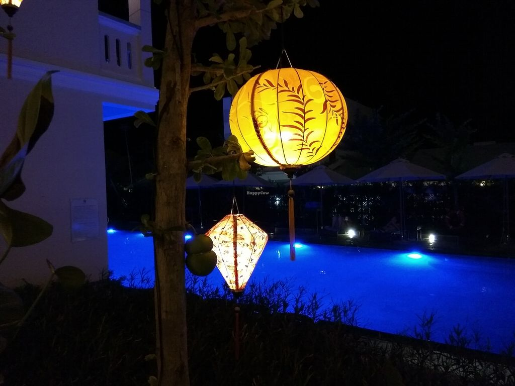 "Photo of REMOVED: Little Hoi An Boutique Hotel - Vegetarian Dinner Buffet  by <a href=""/members/profile/PandaTank"">PandaTank</a> <br/>Outdoor seating next to the pool <br/> September 9, 2017  - <a href='/contact/abuse/image/100570/302339'>Report</a>"