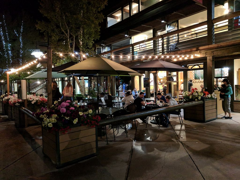 """Photo of The Stew Pot  by <a href=""""/members/profile/eee135"""">eee135</a> <br/>Outdoor seating area at night  <br/> September 10, 2017  - <a href='/contact/abuse/image/100575/302784'>Report</a>"""