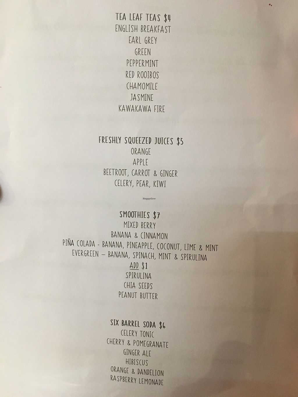 "Photo of CLOSED: Mara Restaurant  by <a href=""/members/profile/Yolanda"">Yolanda</a> <br/>drinks menu  <br/> September 9, 2017  - <a href='/contact/abuse/image/100578/302300'>Report</a>"