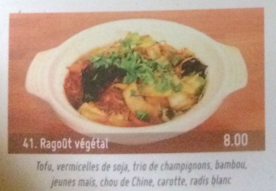 """Photo of Bodhi Vegan  by <a href=""""/members/profile/FabienMoutarde"""">FabienMoutarde</a> <br/>Ragoût végétal (8€) <br/> September 10, 2017  - <a href='/contact/abuse/image/100588/303076'>Report</a>"""