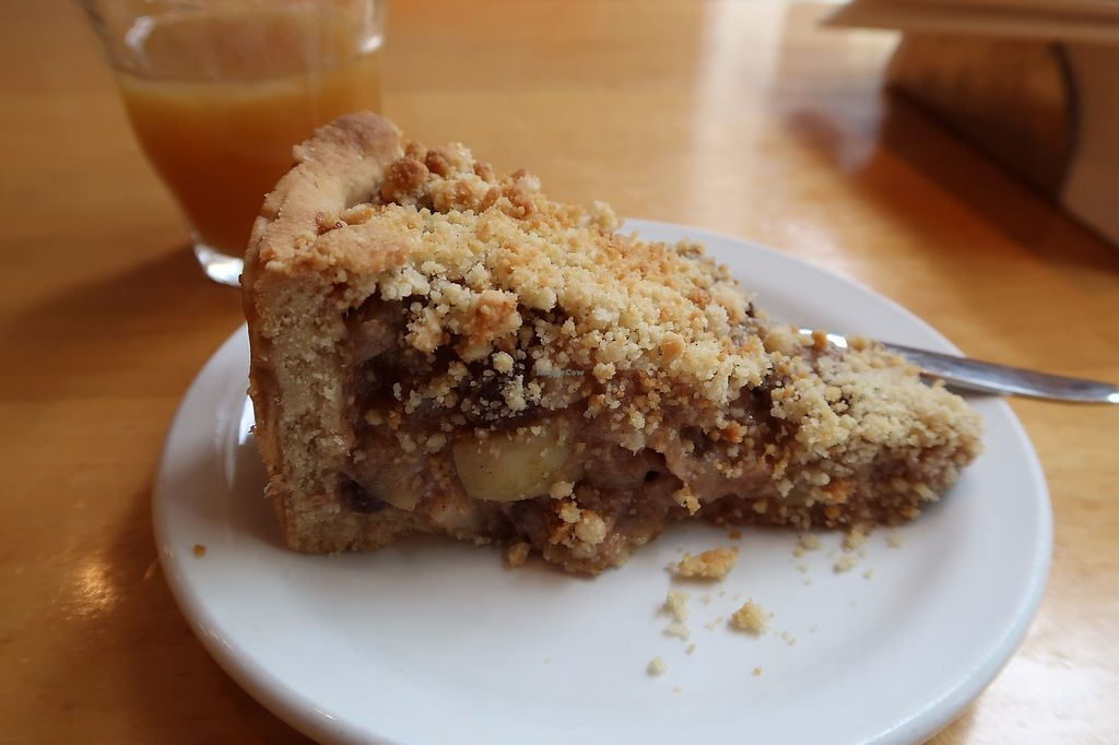 """Photo of Deshima  by <a href=""""/members/profile/Celestik"""">Celestik</a> <br/>Very delicious homemade apple pie! 3€50, the glass of fresh juice is 2€50 <br/> September 19, 2017  - <a href='/contact/abuse/image/1005/306138'>Report</a>"""