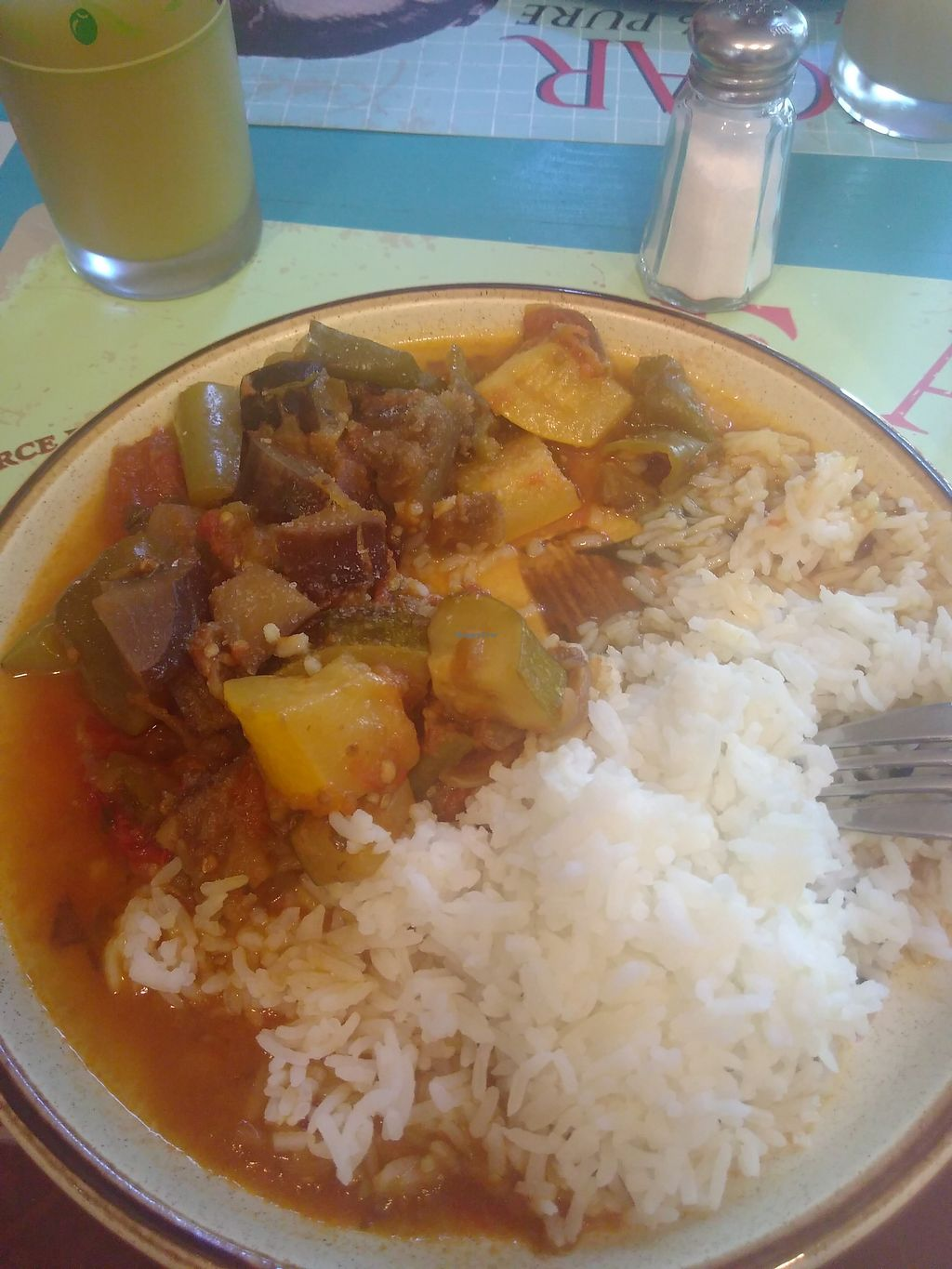 """Photo of Le Bistrot des Legume  by <a href=""""/members/profile/naiaracunha"""">naiaracunha</a> <br/>Ratatouille!  <br/> September 9, 2017  - <a href='/contact/abuse/image/100608/302449'>Report</a>"""